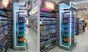 Color Coded Mouthwash Merchandising