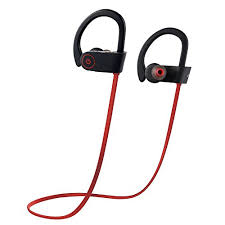 Bluetooth Headphones Otium Best Wireless Sports Earphones w Mic