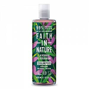 Faith in Nature Lavender and Geranium Shampoo - 400ml