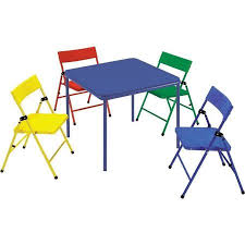 Walmart Outdoor Folding Table And Chairs by Safety 1st Children U0027s Folding Table And Chairs Mix And Match
