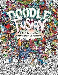 Doodle Fusion Zifflins Coloring Book Volume By Zifflin
