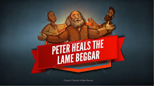 Acts 3 Peter Heals The Lame Man Kids Bible Stories