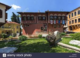 100 Architectural Houses PLOVDIV BULGARIA JULY 5 2018 Nineteenth Century