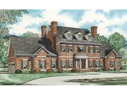 Saltsburg Luxury Georgian Home Plan 055S 0081