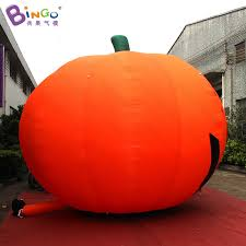 Large Blow Up Halloween Decorations by Free Shipping Halloween Decoration Inflatable Giant Pumpkin Model