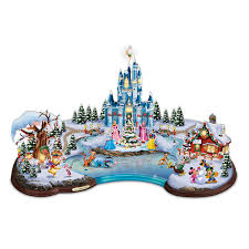 Disney Tinkerbell Star Christmas Tree Topper by Amazon Com Disney Light Up Christmas Cove Village Sculpture By