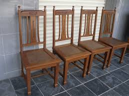 Back Jack Chair Ebay by Dining Room Dining Chair In Vintage Theme Made Of Leather And