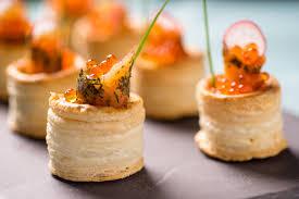 canapés saumon fumé servir du saumon fumé toutpratique