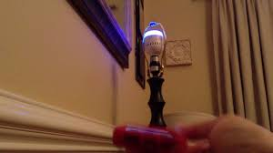 led wifi light bulb speaker controlled by bluetooth with
