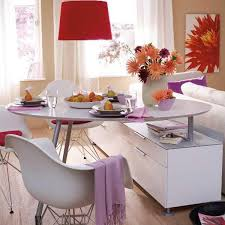 Dining Table With Storage Cabinet Modern Room Dividers For Space Saving Interior Design And Decorating