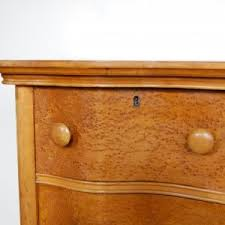 serpentine birdseye maple burl highboy dresser circa 1890 the