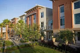 100 Loft Style Home Exterior Facade Contemporary Loft Style Homes Stock Photo Dissolve