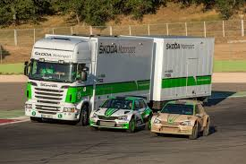A Workshop On Wheels: Meet The ŠKODA Motorsport Service Truck ...