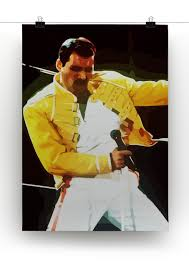 Freddie Mercury Death Bed by Freddie Mercury Canvas Print U0026 Poster Canvas Art Rocks
