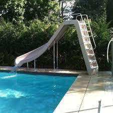 Residential Swimming Pool Waterslides