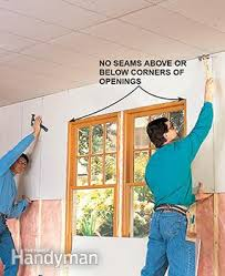 hanging drywall on ceiling tips how to hang drywall like a pro the family handyman