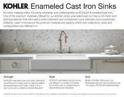 Kohler Gilford Scrub Up Sink by Kohler K 3200 0 White Brockway 36