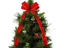 Artificial Decorated Christmas Tree