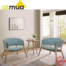 Atmua Milan Lounge Chair Set - [Full Solid Wood] (2 Chair + 1 End Table) St Kitts Lounge Chairs Set Of 2 Panama Jack Key Biscayne Antique And Brown Outdoor Chair Set With Ottoman Piece Walker Edison Fniture Company Removable Cushions Wood Patio Gray 2pack Telescope Casual Larssen Cushion Swivel Rocker Side Table Abbots Court Cosco Alinum Chaise Costway 3 Wicker Rattan Steel Black Latvia Midcentury Ottoman By Corvus Priest Calvin Hee From Hay Chairset Blue