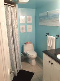 Small Lighthouse Bathroom Decor by How To Paint A Beach Canvas Snapguide