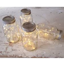 12 Mason Jar Lights Rustic Wedding Decorations Vintage Reception Centerpiece Not Included