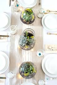 Wedding Centerpieces For Table Rustic Succulent Centerpiece Design Great Party Inspiration