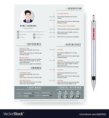 Creative Minimalist Cv Resume Template With Cv Template Professional Curriculum Vitae Minimalist Design Ms Word Cover Letter 1 2 And 3 Page Simple Resume Instant Sample Format Awesome Impressive Resume Cv Mplate With Nice Typography Simple Design Vector Free Minimalistic Clean Ps Ai On Behance Alice In Indd Ai 15 Templates Sleek Minimal 4p Ocane Creative