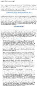 Godaddy Renewal Promo Codes 2013