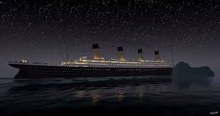 Sinking Ship Simulator The Rms Titanic by Re Live The Sinking Of The Titanic In Real Time Video Daily Mail