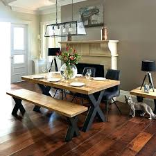 Dining Room Table With Bench And Chairs Seating Medium Size Of Storage Tables Sets Ideas Elements