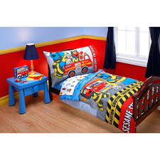 Decoration: Firefighter Comforter Set Baby Bedding Fire Truck Boy ...