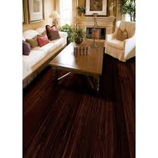 Eco Forest Laminate Flooring by Ecoforest Palace Hand Scraped Solid Stranded Bamboo 1 2in X 5in