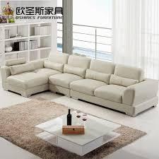 intérieur et canapé importés en cuir canapé meubles de salon moderne sofa sectionnel
