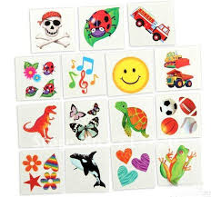 Wholesale Hotsale Water Transfer Cartoon Tattoos Temporary Tattoo