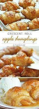 Rustic French Apple Tart Dumplings