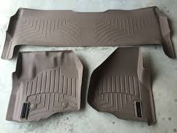 2012 F 250 Weathertech Floor Mats by 2015 Weathertech Floor Mats Ford F 250 Trucks Other For Sale In