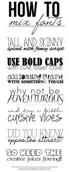 Best 25 Mixing fonts ideas on Pinterest