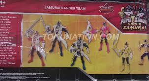 Toys R Us Art Master by Toys R Us Exclusive Samurai Ranger Team Tokunation