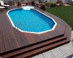 Above Ground Pool Ladder Deck Attachment 10 awesome above ground pool deck designs