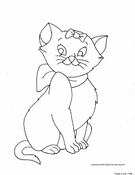 Innovative Cat Coloring Pages Free Downloads For Your KIDS