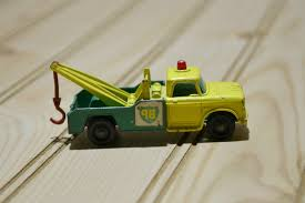 100 Matchbox Tow Truck Vintage Toy Bp Green ARDIAFM