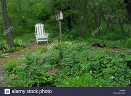 Shade Garden With White Adirondack Chair And Whimsical Birdhouse In ... 65 Best Front Yard And Backyard Landscaping Ideas Designs Lets Do Whimsical Outdoor Ding Making It Lovely A Romantic Garden Wedding Every Last Detail Stevenson Manor Upholstered Side Chair With Turned Legs By Standard Fniture At Household Club Pair Vintage Rebar Custom Painted Vegetable Back Bistro Chairs 25 Patio To Buy Right Now Carate Batik Lagoon Rounded Corners Cushion Blue 6 Montage Antiques Display Of Counter Stool Jugglingelephants