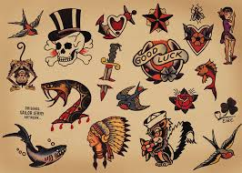 Sailor Jerry Traditional Tattoo Flash Set In 2017 Real Photo Pictures Images And Sketches Collections