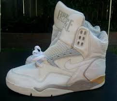 Vintage Nike Air Ultra Force Hi White On 1990 Basketball Shoes Size 13