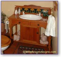 antique bathroom vanity double sink country french bathroom