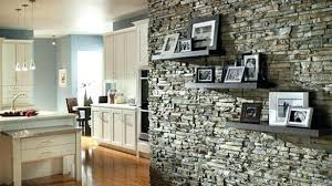 Indoor Stone Wall Amazing Paint Ideas For Living Room With Wood Parquet Flooring Pertaining To 14