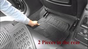 100 Truck Floor Mat Universal Rubber Car Floor Mats Thpandacover YouTube