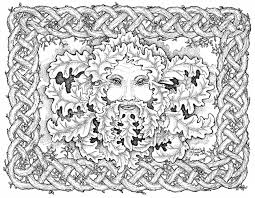 Free Celtic Coloring Pages