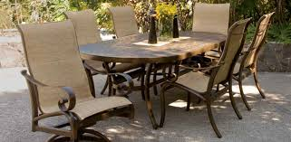 Patio Furniture Slings Fabric by Veracruz Collection Castelle Luxury Outdoor Furniture