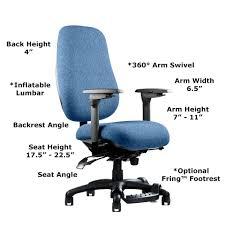Ergonomic Kneeling Posture Office Chair by Neutral Posture Ergonomic Chair Adjustability Ergomart